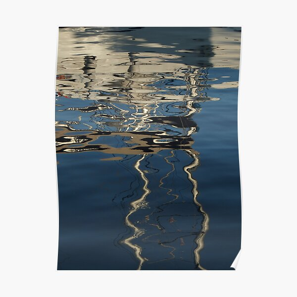 Mediterranean Water Abstract (2) Poster