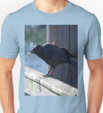Crow Catches Salmon T-Shirt