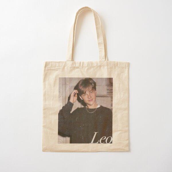 Young Leonardo DiCaprio Cotton Tote Bag