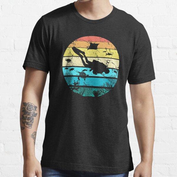 Vintage Retro Scuba Diving Essential T-Shirt