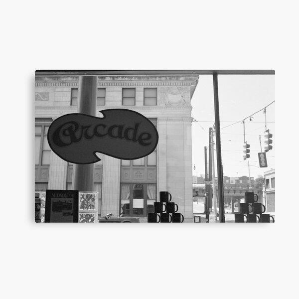 Arcade Restaurant, Memphis, Tennessee Metal Print
