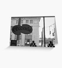 Arcade Restaurant, Memphis, Tennessee Greeting Card