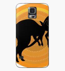 Kangaroos Running Case/Skin for Samsung Galaxy