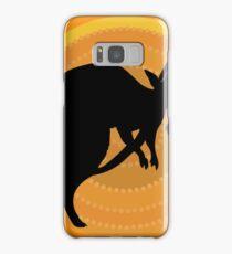 Kangaroos Running Samsung Galaxy Case/Skin