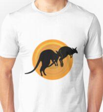 Kangaroos Running Unisex T-Shirt