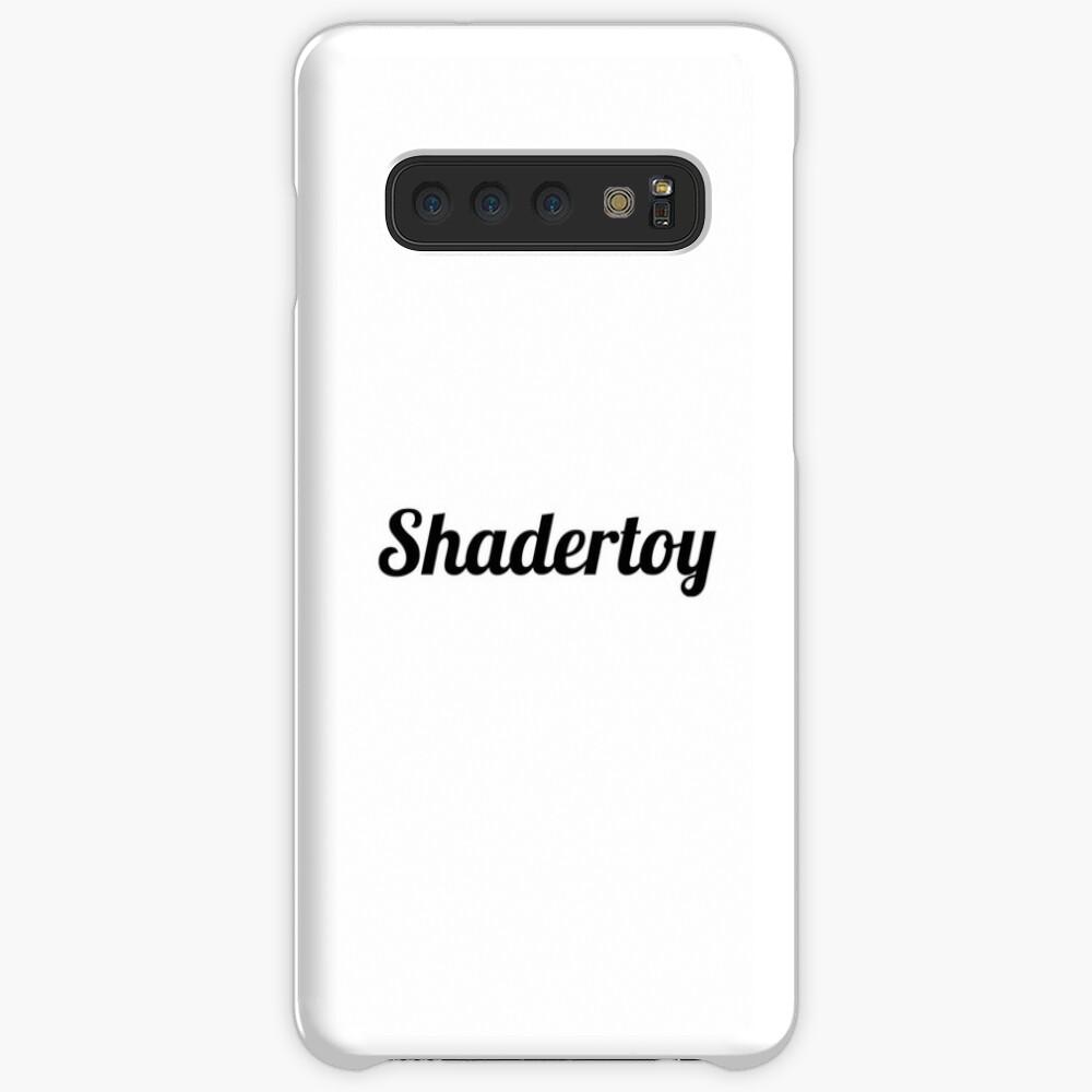 "Shadertoy ""vec3 col=(1.0,1.0,1.0);"" Case & Skin for Samsung Galaxy"