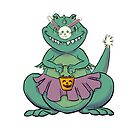 T-rex goes Trick or Treating by Patricia Lupien