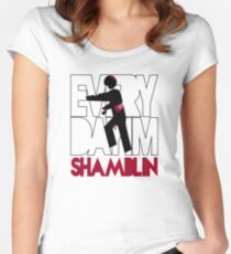 Everyday I'm Shamblin' Women's Fitted Scoop T-Shirt