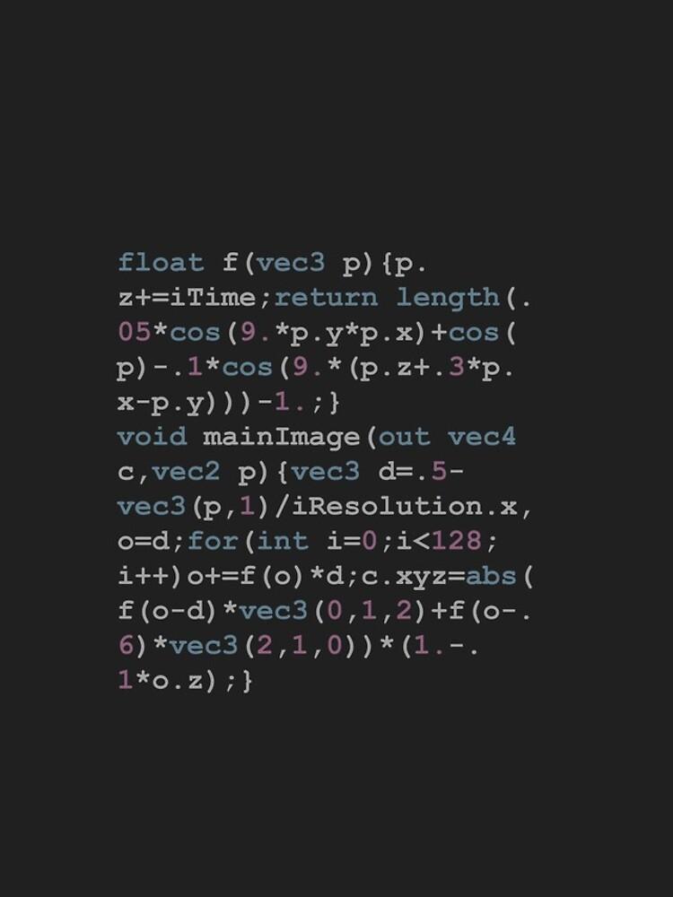 Shadertoy Size Coding by Shadertoy
