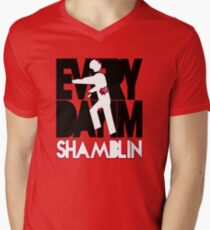 Everyday I'm Shamblin' (reverse) T-Shirt