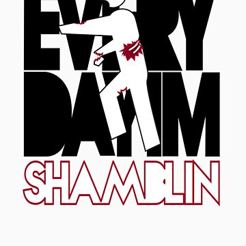 Everyday I'm Shamblin' (reverse) by maclac