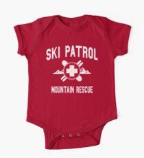 Ski Patrol & Bergrettung (Vintage-Look) Baby Body Kurzarm
