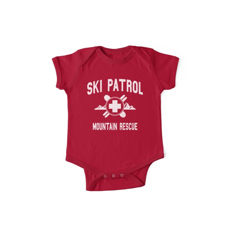 «Ski Patrol & Mountain Rescue (apariencia vintage)» de robotface