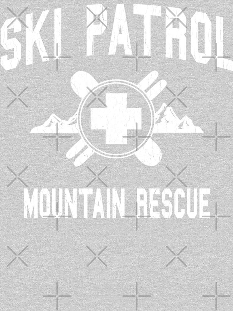 Ski Patrol & Mountain Rescue (vintage look) by robotface