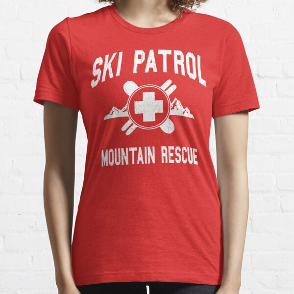 Ski Patrol & Mountain Rescue (vintage look) Essential T-Shirt