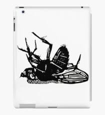Dead Fly linocut iPad Case/Skin