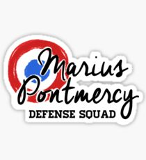 Marius Defense Squad Sticker