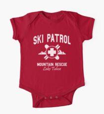 Ski Patrol - Lake Tahoe (Vintage-Look) Baby Body Kurzarm