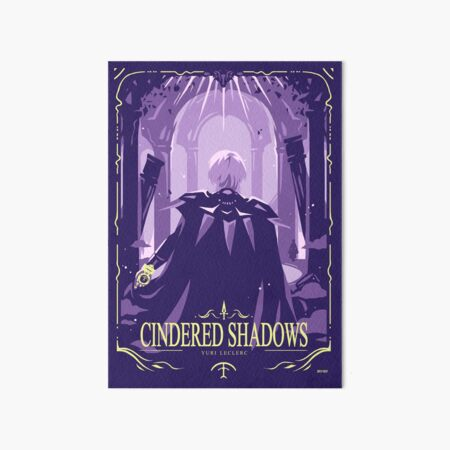 Cindered Shadows Art Board Print