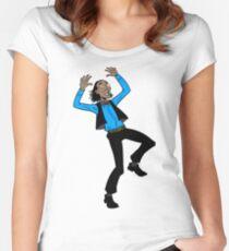 POP POP! Women's Fitted Scoop T-Shirt