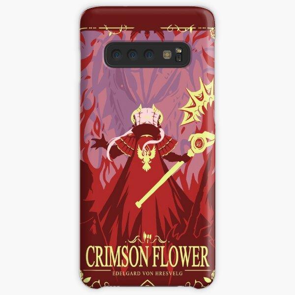 Crimson Flower Samsung Galaxy Snap Case