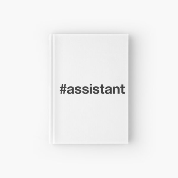 ASSISTANT Hashtag Cuaderno de tapa dura