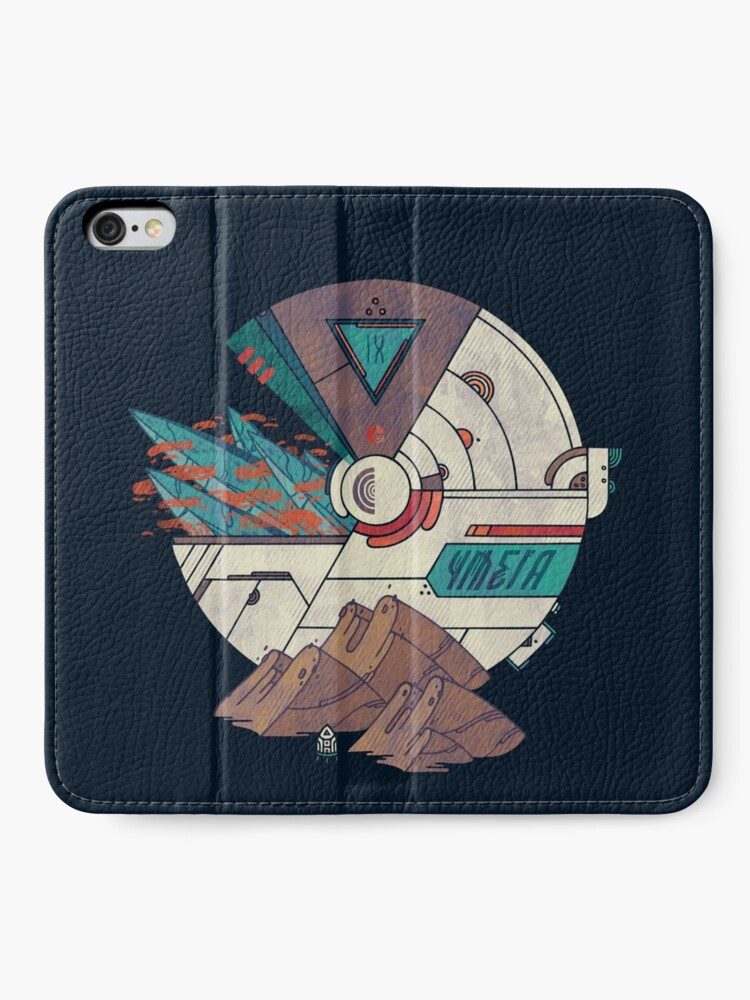 Alternate view of Visions of a New Homeworld iPhone Wallet