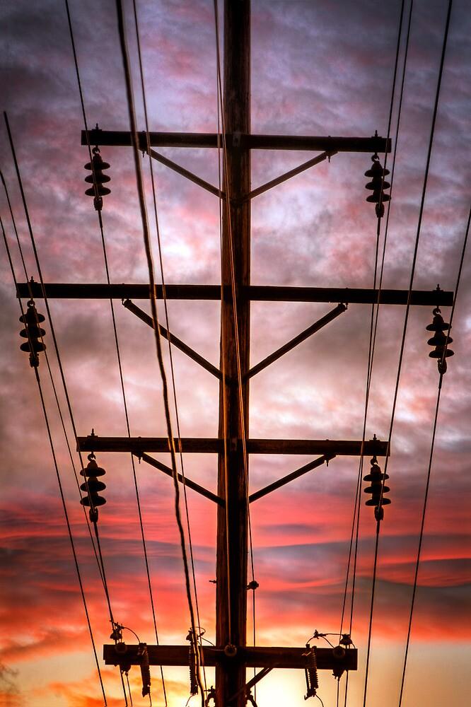 Powered Sunset by Bob Larson