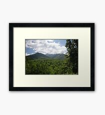 Mount LeConte Framed Print