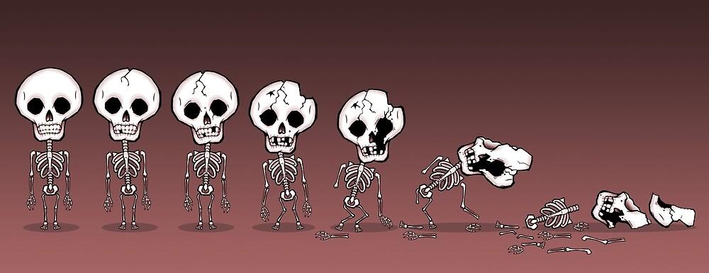 The Great Goblin Tree Skeletons by oneoddegg
