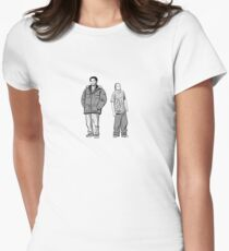 Chris Partlow and Snoop Womens Fitted T-Shirt