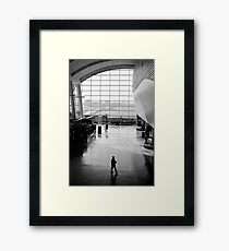 your ride is waiting Framed Print