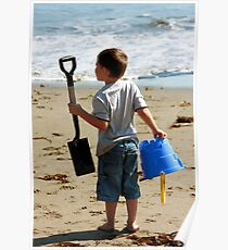 Have Bucket & Shovel...Will Build Sand Castle Poster