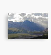 Foreboding Clouds Canvas Print