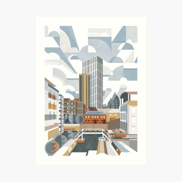 The Bank Art Print