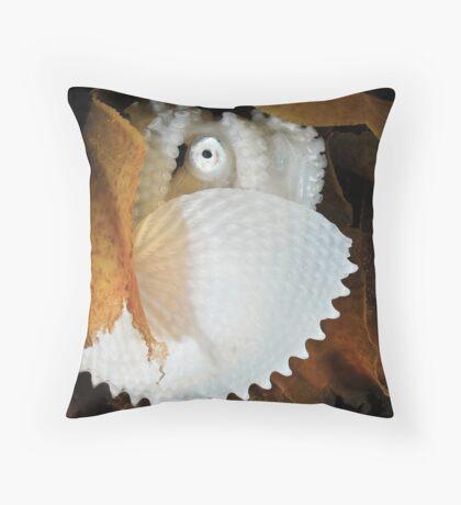 Paper Nautilus Throw Pillow