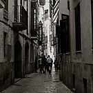 Streets of Palma de Mallorca . Spain. Doctor Faustus. 2015. by © Andrzej Goszcz,M.D. Ph.D