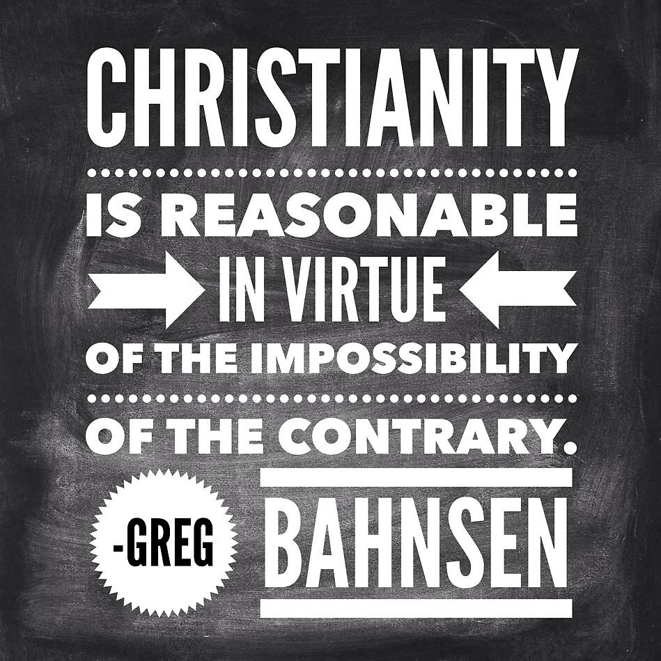 Christianity is Reasonable by Thousand Word Graphics