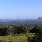 Glass House Mountains by Jack Miller