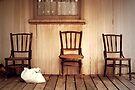 We Three Chairs by yolanda