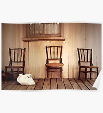 We Three Chairs Poster