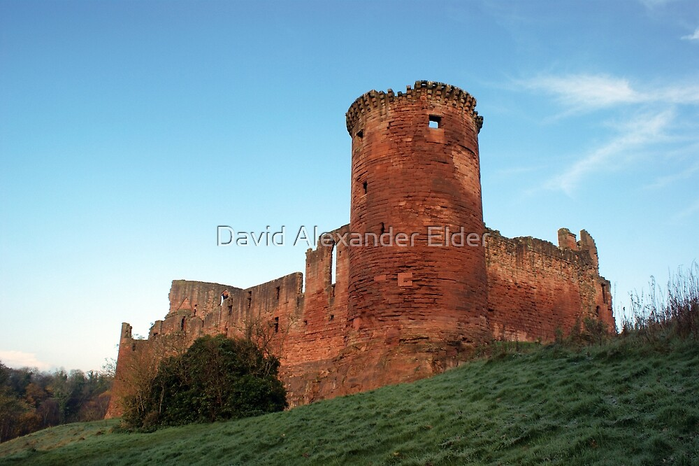 Bothwell Castle, Scotland by David Alexander Elder