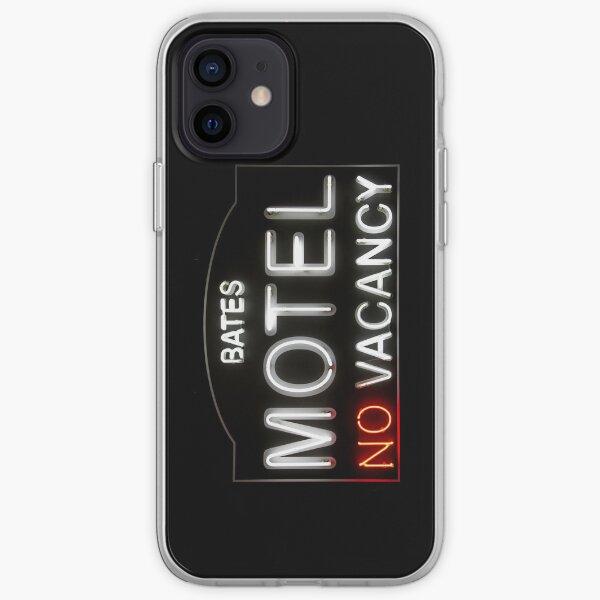 Bates Motel - Neon Sign - iPhone Case iPhone Soft Case