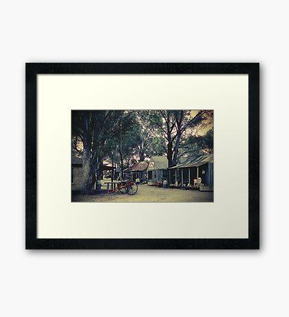 Australian Pioneer Village, Wilberforce Framed Print