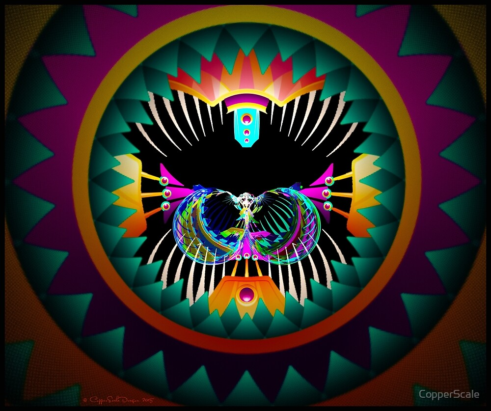 Peyote Dreams - The Psychedelic Cat by CopperScale