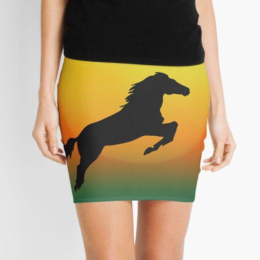 Jumping Mini Skirt