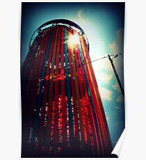Ribbon Tower. Poster
