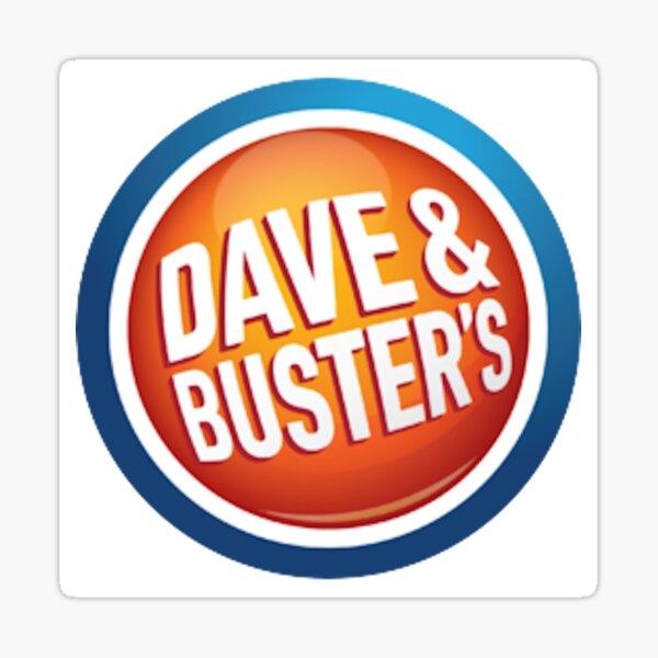 Dave & Buster's Logo Sticker