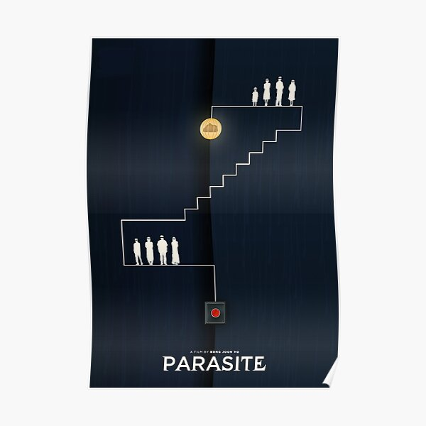 Parasite - Bong Joon-Ho Movie Artwork Poster
