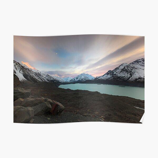 Tasman Glacier Poster